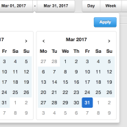Create date-range selector with angularjs directives